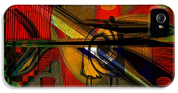 Abstract Wall Art IPhone 5 Case