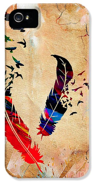 Birds Of A Feather IPhone 5 Case by Marvin Blaine