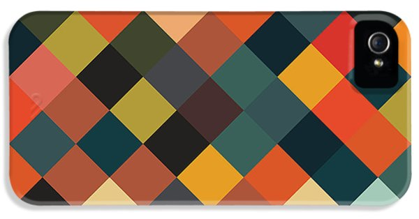 Repeat iPhone 5 Case - Bold Geometric Print by Mike Taylor