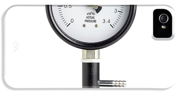 Bourdon Pressure Gauge IPhone 5 Case by Science Photo Library