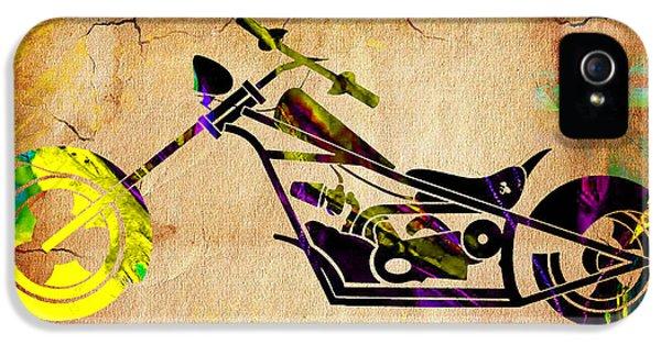 Chopper Art IPhone 5 Case by Marvin Blaine