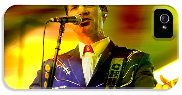 Chris Isaak IPhone 5 Case by Marvin Blaine