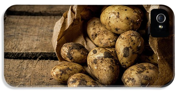 Fresh Potatoes IPhone 5 Case by Aberration Films Ltd