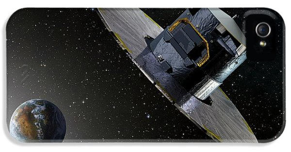Gaia Space Probe IPhone 5 Case by D Ducros/european Space Agency