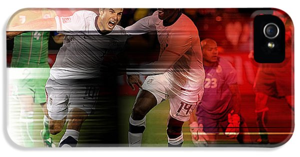 Landon Donovan IPhone 5 Case by Marvin Blaine