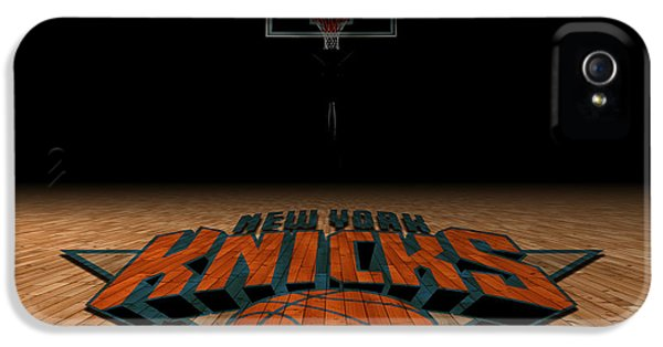 New York Knicks IPhone 5 Case by Joe Hamilton