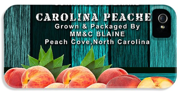 Peach Farm IPhone 5 Case by Marvin Blaine