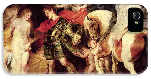 Perseus Liberating Andromeda IPhone 5 Case by Peter Paul Rubens