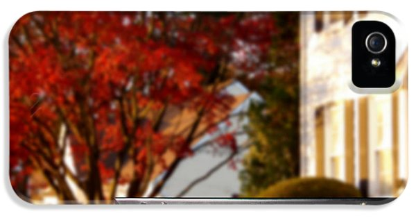 Real Estate Realtor Sold Sign And House For Sale IPhone 5 Case by Olivier Le Queinec