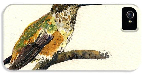 Rufous Hummingbird IPhone 5 Case