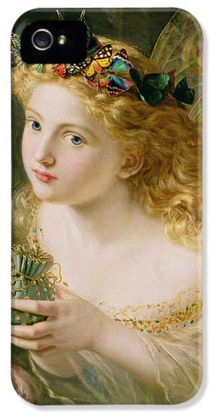 Take The Fair Face Of Woman IPhone 5 Case by Sophie Anderson