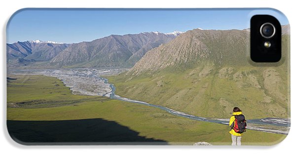 Usa, Alaska, Arctic National Wildlife IPhone 5 Case by Hugh Rose