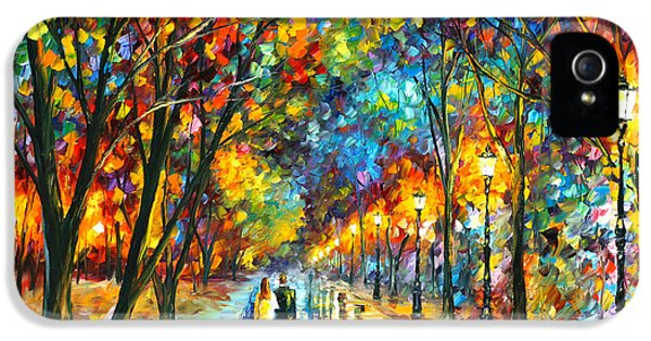 When Dreams Come True IPhone 5 Case by Leonid Afremov