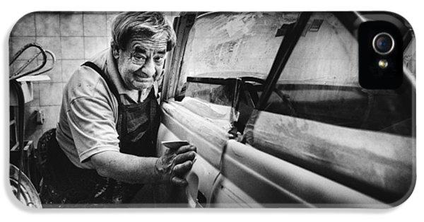 Truck iPhone 5 Case - Untitled by Antonio Grambone
