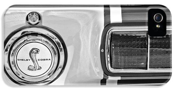 1968 Ford Mustang Fastback 427 Ci - Cobra Emblem IPhone 5 Case by Jill Reger