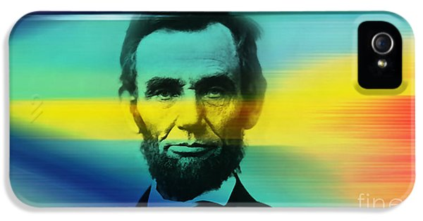 Abraham Lincoln IPhone 5 Case by Marvin Blaine