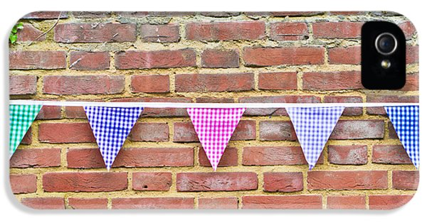 Bunting IPhone 5 Case by Tom Gowanlock