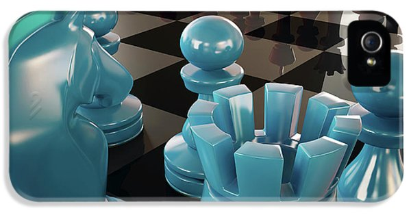 Chess Board And Pieces IPhone 5 Case