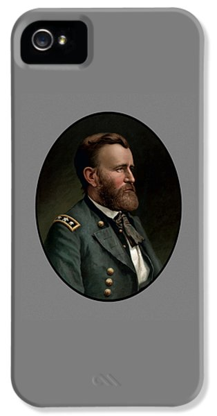 General Grant IPhone 5 Case by War Is Hell Store