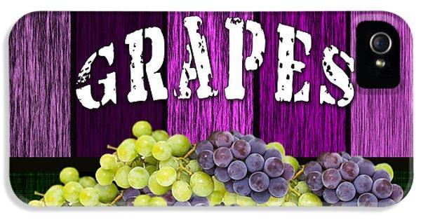 Grape Farm IPhone 5 Case by Marvin Blaine