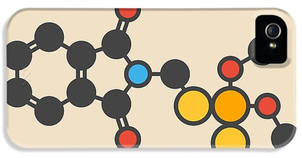 Toxicity iPhone 5 Case - Insecticide Molecule by Molekuul