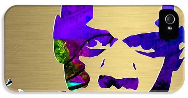 Jay Z Gold Series IPhone 5 Case by Marvin Blaine