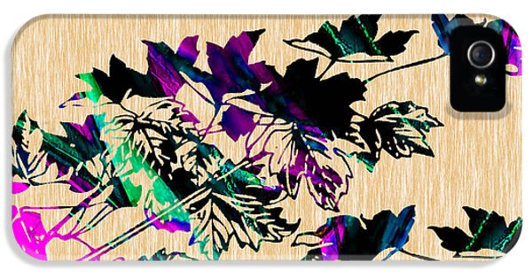 Leaves Painting IPhone 5 Case