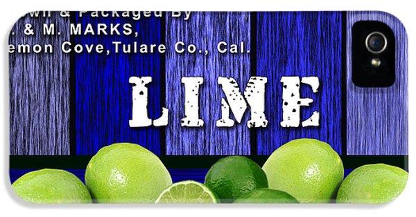 Lime Farm IPhone 5 Case by Marvin Blaine