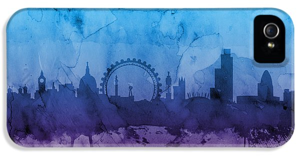 London iPhone 5 Case - London England Skyline by Michael Tompsett