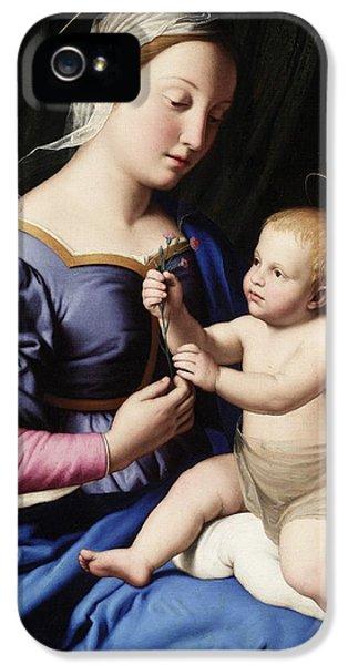 Madonna And Child IPhone 5 Case by Il Sassoferrato