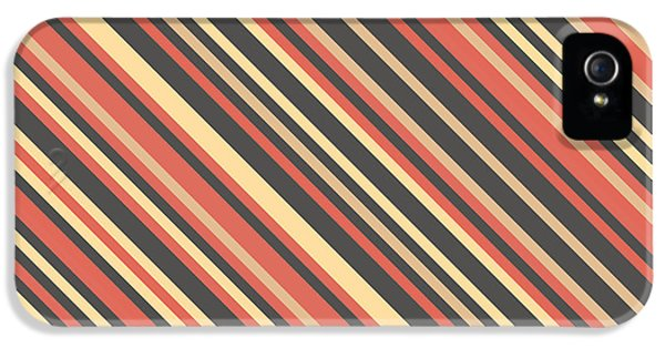 Striped Pattern IPhone 5 Case by Mike Taylor