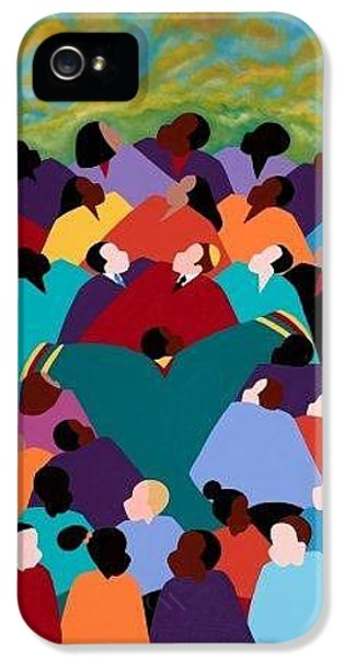 iPhone 5 Case - The Dream by Synthia SAINT JAMES