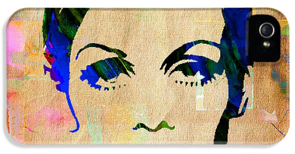 Twiggy Collection IPhone 5 Case by Marvin Blaine