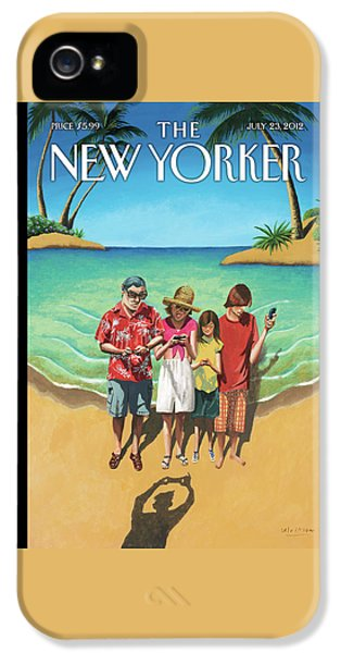 New Yorker July 23rd, 2012 IPhone 5 Case