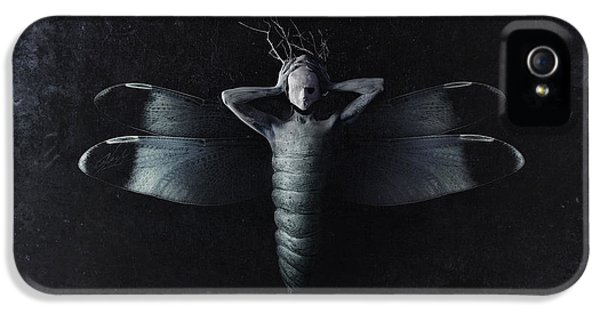 The Moth IPhone 5 Case by Victor Slepushkin