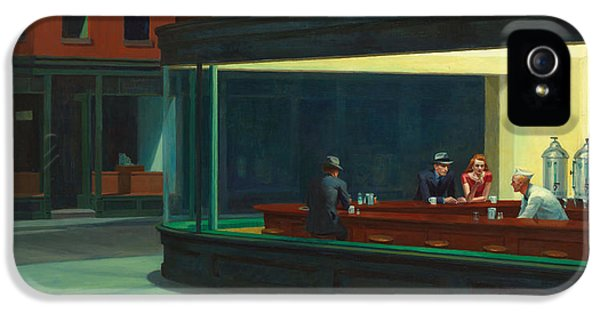 Nighthawks IPhone 5 Case