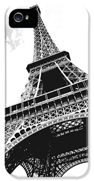 Eiffel Tower IPhone 5 Case by Elena Elisseeva