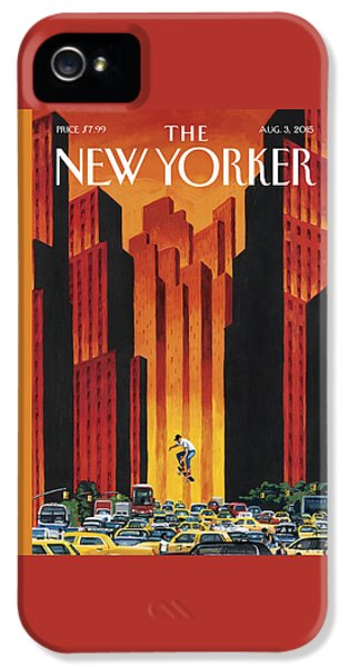 New Yorker August 3rd, 2015 IPhone 5 Case