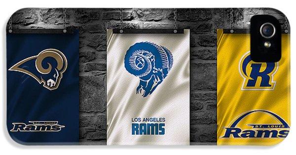 St Louis Rams IPhone 5 Case by Joe Hamilton