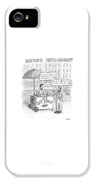 New Yorker May 28th, 2007 IPhone 5 Case by Roz Chast
