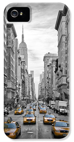 5th Avenue Nyc Traffic II IPhone 5 Case