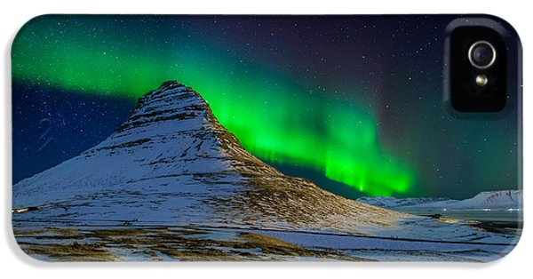 Aurora Borealis Or Northern Lights IPhone 5 Case by Panoramic Images