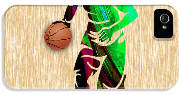 Basketball IPhone 5 Case by Marvin Blaine