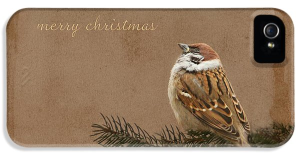 Merry Christmas IPhone 5 Case by Heike Hultsch