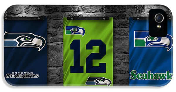 Seattle Seahawks IPhone 5 / 5s Case by Joe Hamilton