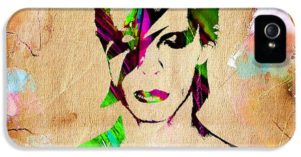 David Bowie Collection IPhone 5 Case by Marvin Blaine