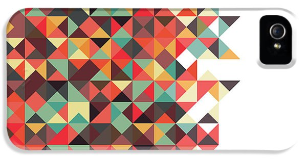 Repeat iPhone 5 Case - Geometric Art by Mike Taylor