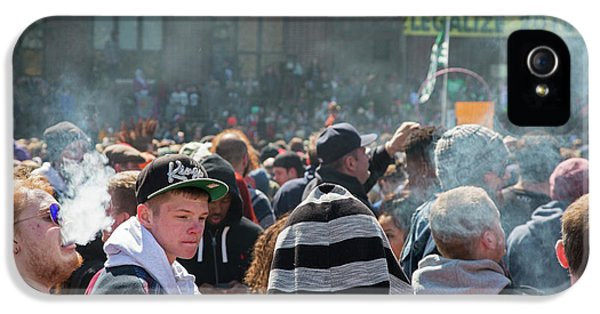 Legalisation Of Marijuana Rally IPhone 5 Case