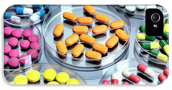 Pharmaceutical Research IPhone 5 Case by Tek Image