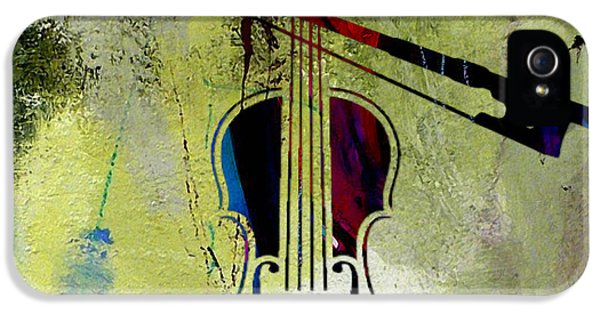 Violin And Bow IPhone 5 Case by Marvin Blaine
